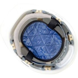 MiraCool Hardhat Cooling Pad Navy Package Count 12 by