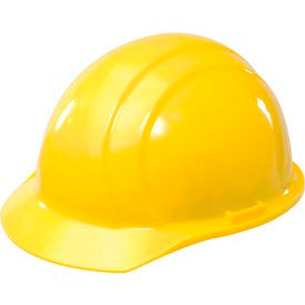 ERB™ 19762 Americana Hard Hat, 4-Point Pinlock Suspension, Yellow