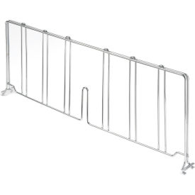 "Divider 21""D X 8""H for Wire Shelves"