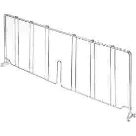 "Divider 24""D x 8""H for Nexel® Wire Shelves"