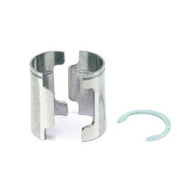 Aluminum Shelf Clips With Retaining Rings (4 pcs)