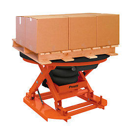PrestoLifts™ Self-Leveling Air-Operated Pallet Carousel & Positioner