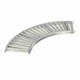"Omni Metalcraft 1-3/8"" Dia. Steel Roller Conveyor Curved Section RSHC1.4-12-3-90"