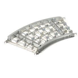 Omni Metalcraft Aluminum Skate Wheel Conveyor Curved Section WAHC3-18-16-45