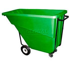 Bayhead Products Green Medium Duty 5/8 Cubic Yard Tilt Truck 1000 Lb. Capacity