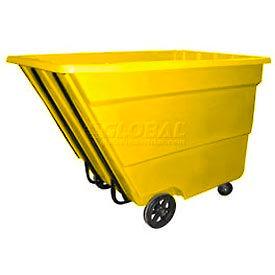 Bayhead Products Yellow Medium Duty 2.2 Cubic Yard Tilt Truck 2200 Lb. Capacity