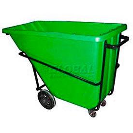 Bayhead Products Green Heavy Duty 5/8 Cubic Yard Tilt Truck 1500 Lb. Capacity