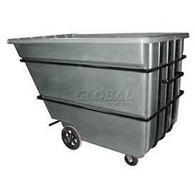 Bayhead Products Gray Heavy Duty 2.2 Cubic Yard Tilt Truck 2500 Lb. Capacity