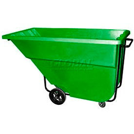 Green Medium Duty 1.1 Cubic Yard Tilt Truck 1200 Lb. Capacity