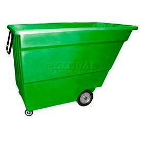 Bayhead Products Green Light Duty 1.7 Cubic Yard Tilt Truck 1000 Lb. Capacity