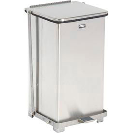 Fire Safe Step On Metal Trash Cans, 12 Gallon