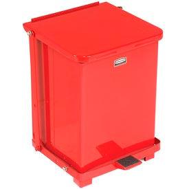 Fire Safe Step On Metal Trash Cans