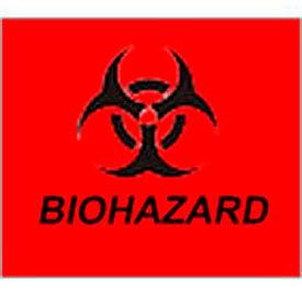 Trash Can Label - Bio Hazard