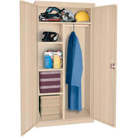 Sandusky Classic Series Combination Storage Cabinet CAC1361872 - 36x18x72, Sand