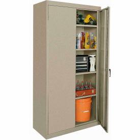 Sandusky Elite Series Storage Cabinet EA42362478 - 36x24x78, Sand