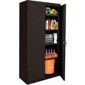 Sandusky Classic Series Storage Cabinet CA41361872 - 36x18x72, Black