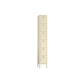 Penco 68191X073-SU Vanguard Locker Six Tier 12x12x12 6 Doors Assembled Champagne