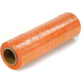 """Light Orange Stretch Wrap 18"""" x 1500' x 80 Gauge - Pkg Qty 4"""
