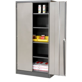 """4 Shelf Storage Cabinet 36""""W x 18""""D x 72""""H"""