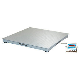 "Brecknell 36"" x 36"" Low Profile Digital Pallet Scale 2,500lb x 0.5lb"