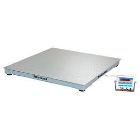 "Brecknell 60"" x 60"" Low Profile Digital Pallet Scale 5,000lb x 1lb"