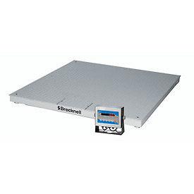 "Brecknell Pegasus DCSB 48"" x 48"" Low Profile Digital Pallet Scale 5,000lb x 1lb"