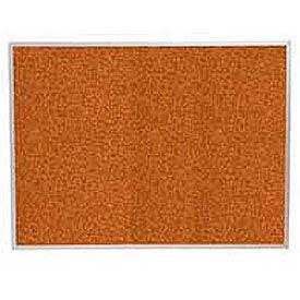 "Balt® Splash Cork Tackboard Aluminum Frame 96""W x 48""H Red"