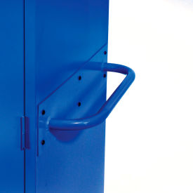 Sandusky Cabinet Push Handle TSH, Blue
