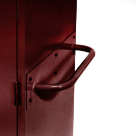 Sandusky Cabinet Push Handle TSH, Burgundy
