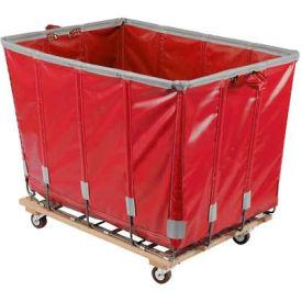 Dandux Vinyl Basket Bulk Truck 400720G06R-3S 6 Bushel - Red