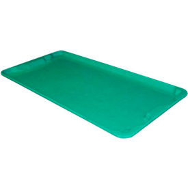 "Molded Fiberglass Toteline Nest and Stack Lid 780118 -42-1/2"" x 20"", Pkg Qty 5, Green - Pkg Qty 5"
