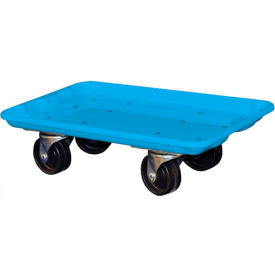 """Molded Fiberglass Toteline Dolly 780238 for 17-7/8"""" x10""""-5/8"""" x 5"""" Tote, Blue"""
