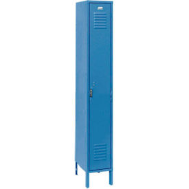 Penco 6163V-1-806-SU Vanguard Locker Pull Latch SingleTier 12x15x72 1 Door Assembled Marine Blue