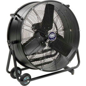 "Global 24"" Portable Tilt Blower Fan Direct Drive"