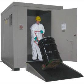 Outdoor Hazardous Chemical Storage Building - 12 Drum