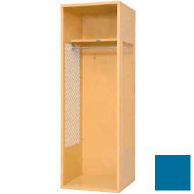 Penco 6KFD60-806 Stadium® Locker With Shelf, 33x24x72, Marine Blue, Unassembled