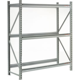"Extra High Capacity Bulk Rack Without Decking 96""W x 18""D x 72""H Starter"