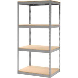 """Record Storage Rack Without Boxes 42""""W x 30""""D x 84""""H"""
