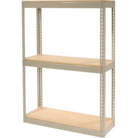 """Record Storage Rack Without Boxes 42""""W x 15""""D x 60""""H"""