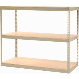 "Record Storage Rack Without Boxes 72""W x 30""D x 60""H"