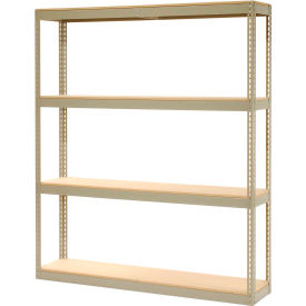 """Record Storage Rack Without Boxes 72""""W x 15""""D x 84""""H"""