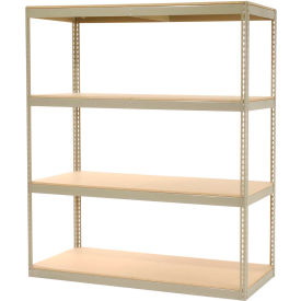 """Record Storage Rack Without Boxes 72""""W x 30""""D x 84""""H"""