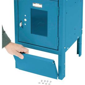 "Front Base For 15""W X 6""H Blue Locker"