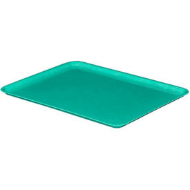 "Molded Fiberglass Nesting Tote 930118 Lid for 930108 Tote - 12-3/8""L x 9-3/4""W, Green"