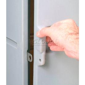 Box Plastic Locker for 4 Tier - Sloped Top 15 x 15 x 29 Gray