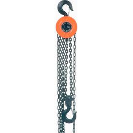 Manual Chain Hoist 10 Foot Lift 2,000 Pound Capacity