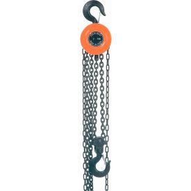 Manual Chain Hoist 20 Foot Lift 10,000 Pound Capacity