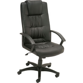 Interion™ - High Back Leather Chair With Head Rest