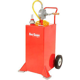 30 Gallon UL Listed Portable Steel Gas Storage Caddy, HGC-30UL