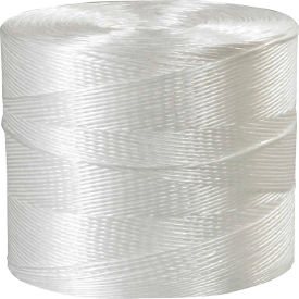 1-Ply Polypropylene Tying Twine, 110 lb. Tensile Strength, 10500' L by